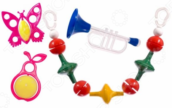 Набор игрушек-погремушек Аэлита «Радужные сны»Погремушки. Подвески<br>Набор игрушек-погремушек Аэлита Радужные сны замечательный подарок для маленьких деток. Даже в раннем возрасте ребенку нужны игрушки, поскольку способствуют развитию важных навыков моторика, внимание, мышление и цветовое восприятие . Погремушка идеальный выбор для малыша, ведь она разработана с учетом возрастных особенностей и абсолютно безопасна.<br>