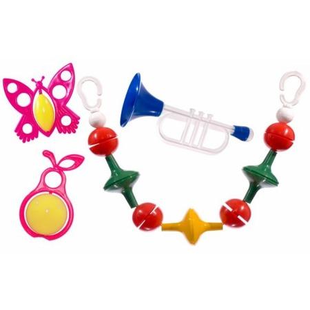 Купить Набор игрушек-погремушек Аэлита «Радужные сны»