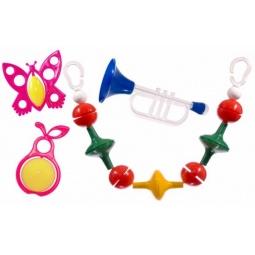 фото Набор игрушек-погремушек Аэлита «Радужные сны»