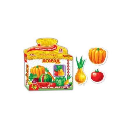 Купить Игра развивающая на магнитах Vladi Toys «Огород»