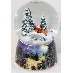 фото Декорация-шар музыкальная Новогодняя сказка «Рождественская ночь» 972093