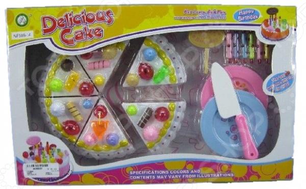 Игровой набор для девочки «Набор кондитерский. Тортик и посуда» игровые наборы dickie игровой набор аэропорт