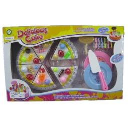 Купить Игровой набор для девочки «Набор кондитерский. Тортик и посуда»