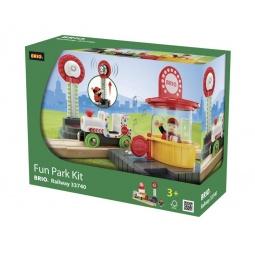 фото Набор игровой со светозвуковыми эффектами Brio «Парк развлечений» 33740