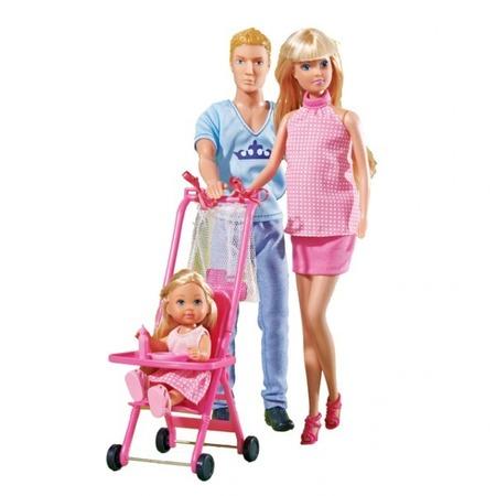 Купить Семья куклы Штеффи Simba 5733200