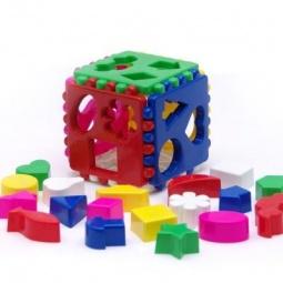 Купить Игрушка развивающая Karolina Toys Кубик 40-0010