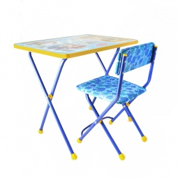 Купить Набор мебели детский: стол и стул Ника «Познайка» ЯВ050253
