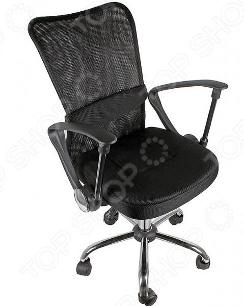 Кресло офисное College H-298FA-1Офисные стулья и кресла<br>Кресло офисное College H-298FA-1 удобный предмет мебели, который подойдет для использования как в офисе, так и дома за компьютерным столом. Подбор качественного кресла очень важен для людей с сидячим видом работы, ведь от неудобного стула возникает дополнительная усталость и даже боли в спине. Эта модель соответствует всем требованиям комфорта. Отдельно следует отметить спинку из ткани с сетчатой структурой, которая адаптируется под изгибы спины пользователя. Кроме того, материал превосходно пропускает воздух, что особенно хорошо в жаркую погоду. Предусмотрена возможность регулировки высоты кресла. Основание на колесиках обеспечивает простое перемещение кресла в пределах помещения.<br>