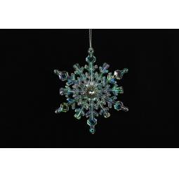 Купить Елочное украшение Crystal Deco «Снежинка» 1707682
