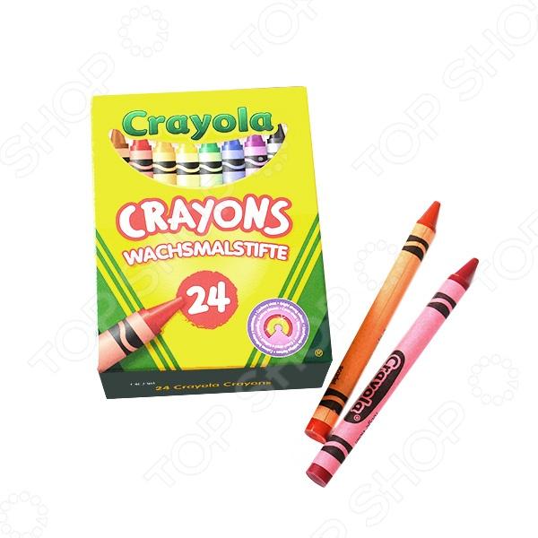 Набор восковых мелков Crayola 0024 crayola crayola набор из 24 цветных карандашей