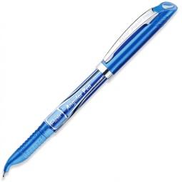 фото Ручка для левшей шариковая Flair Angular. Цвет чернил: синий