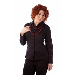 фото Блузка Mondigo XL 9644. Цвет: черный. Размер одежды: 50