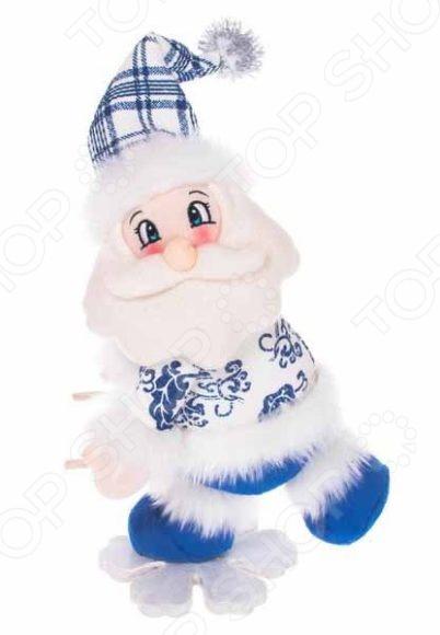 Игрушка новогодняя Новогодняя сказка «Дед Мороз на снежинке» 972014 игрушка новогодняя mister christmas дед мороз sp 04 dm