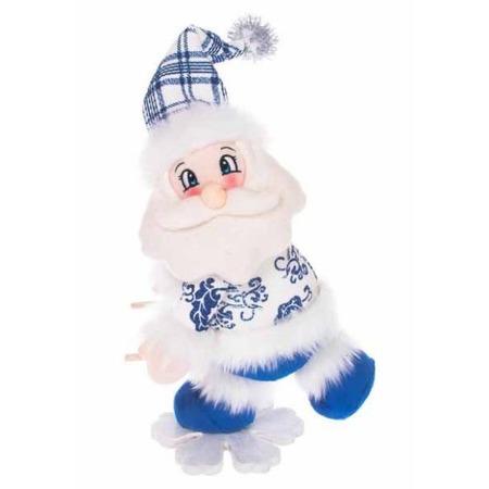 Купить Игрушка новогодняя Новогодняя сказка «Дед Мороз на снежинке» 972014