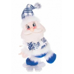 фото Игрушка новогодняя Новогодняя сказка «Дед Мороз на снежинке» 972014