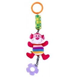 фото Игрушка подвесная Жирафики «Мартышка с колокольчиком»