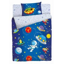 Купить Детский комплект постельного белья Мармелад «Космос»