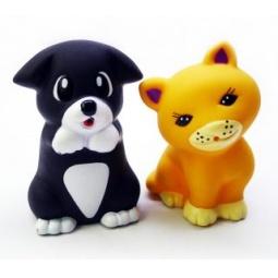фото Набор игрушек для ребенка Жирафики «Котенок Мяу и Щенок»