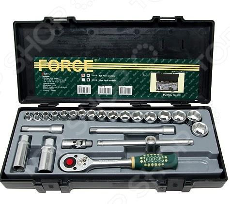 Набор с торцевыми головками Force F-3251 набор с торцевыми головками и битами force f k2463