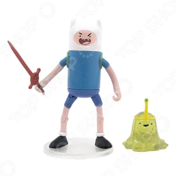 Набор фигурок Adventure Time Финн и Принцесса Слизь