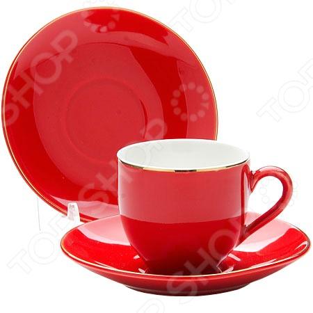 Кофейный набор Loraine LR-24750Чайные и кофейные наборы<br>Кофейный набор Loraine LR-24750 станет украшением вашего стола. Красивое оформление стола как праздничного, так и повседневного это целое искусство. Правильно подобранная посуда это залог успеха в этом деле. Такой оригинальный кофейный набор придется по вкусу даже самым требовательным хозяйкам и придаст особый шарм и очарование сервируемому столу. В набор входят 8 предметов: 4 чашки объемом по 80 мл и 4 блюдца. Набор упакован в стильную подарочную упаковку.<br>