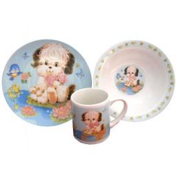 Купить Набор детской посуды Viconte VC-1207 «Собачки»