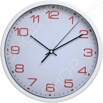 Часы настенные Бюрократ WALLC-R07P симпатичные эйфелева башня шаблон круглой формы настенные часы