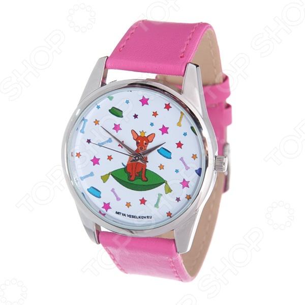 Часы наручные Mitya Veselkov «Королева песиков» Color часы наручные mitya veselkov райский сад color