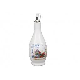фото Бутылка для масла Rosenberg 8100. Рисунок: лаванда