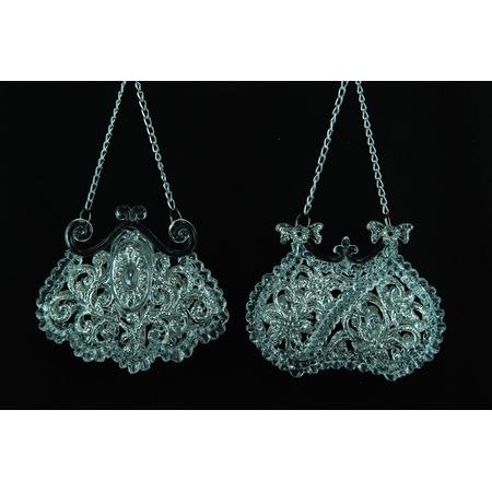 Купить Елочное украшение Crystal Deco «Сумочка» 1707667. В ассортименте
