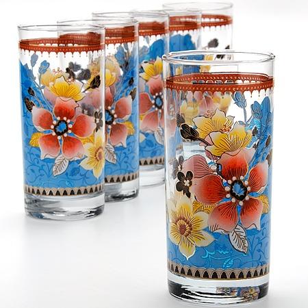 Купить Набор стаканов «Яркое настроение». Цвет: синий