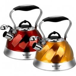 Купить Чайник со свистком Vitesse VS-1119. В ассортименте