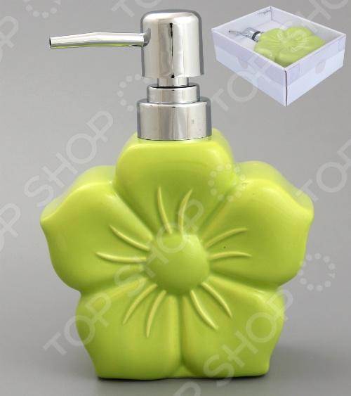 Диспенсер для мыла Elan Gallery «Цветок»