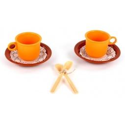 фото Набор посуды детской Росигрушка «Чайная пара Ириска»