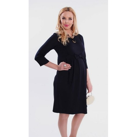 Купить Платье для беременных Nuova Vita 2110.03. Цвет: синий