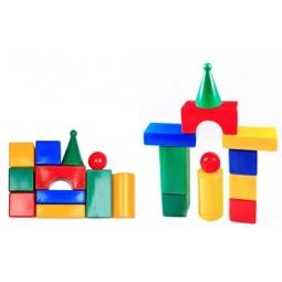 фото Набор кубиков Строим вместе «Строительная стена 11»