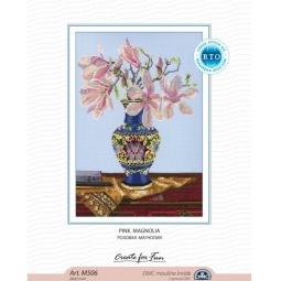 фото Набор для вышивания RTO «Розовая магнолия»