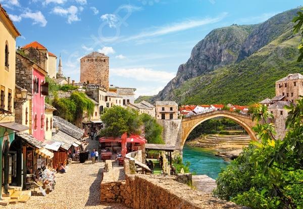 Пазл 1500 элементов Castorland «Старый город Мостар»