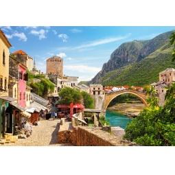 фото Пазл 1500 элементов Castorland «Старый город Мостар»