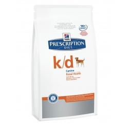 фото Корм сухой диетический для собак Hill's K/D Prescription Diet Canine Renal Health. Вес упаковки: 12 кг