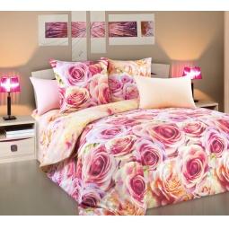 фото Комплект постельного белья Королевское Искушение «Романс». 2-спальный. Размер простыни: 220х240 см
