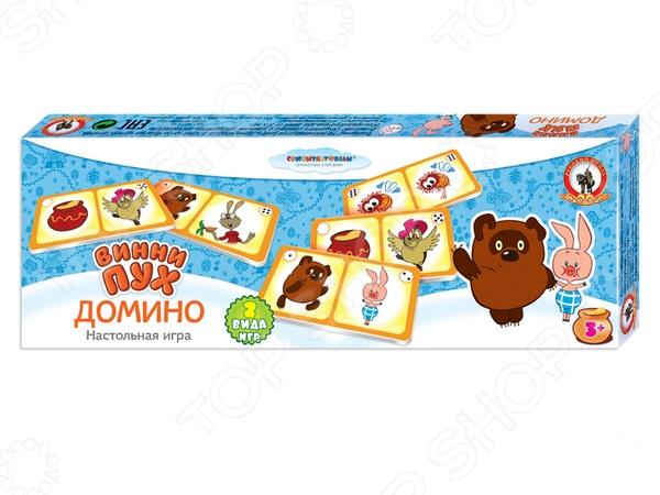 Домино детское Русский стиль «Винни-пух» домино детское русский стиль ну погоди