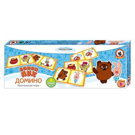 Купить Домино детское Русский стиль «Винни-пух»
