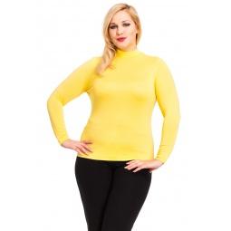 фото Водолазка Mondigo XL 036. Цвет: желтый. Размер одежды: 48
