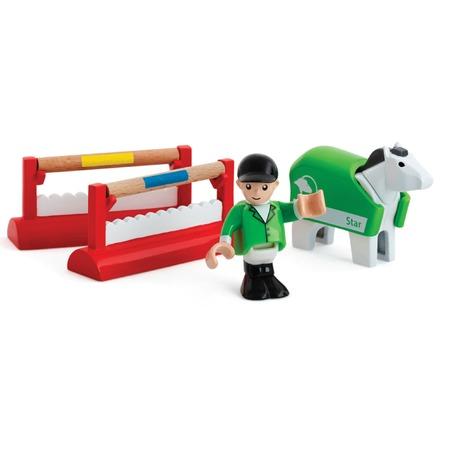Купить Набор игровой для мальчика Brio «Тренировка лошадок»