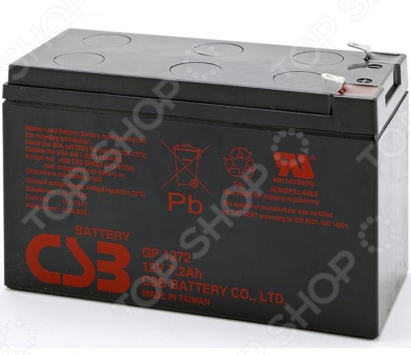 Батарея аккумуляторная CSB GP1272 F2 батарея аккумуляторная csb gp1272 f2