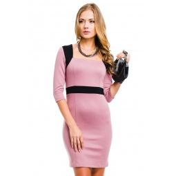 фото Платье Mondigo 5054. Цвет: розовый. Размер одежды: 44