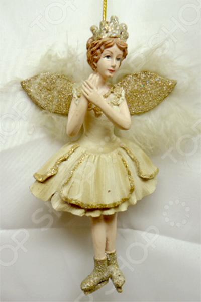 Елочное украшение-подвеска Crystal Deco «Ангел» 1707813