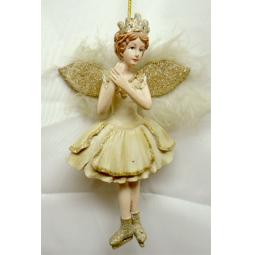 фото Елочное украшение-подвеска Crystal Deco «Ангел» 1707813