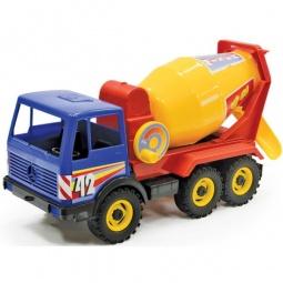 фото Машинка игрушечная Лена «Бетоновоз трехосный» 08004
